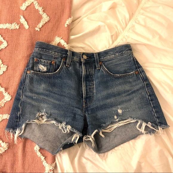 Levi's Pants - Levi's 501 Denim Shorts